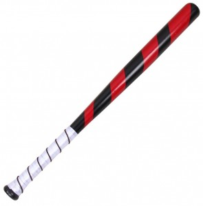 red baseball bat: $49