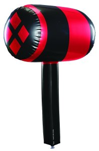Harley Quinn Inflatable Mallet: $9