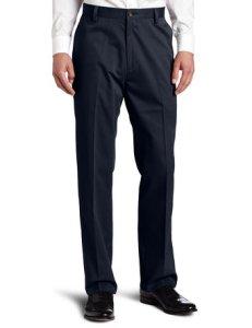 Easy Khaki D3 Classic-Fit Flat-Front Pant