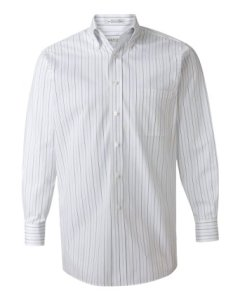 Van Heusen Multi Pinstripe Pinpoint Dress Shirt