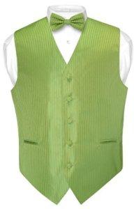 Vest & BOWTie SPINACH GREEN