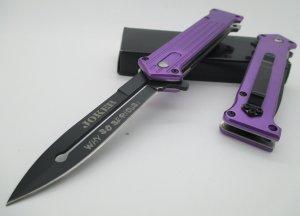 Joker Purple Knife