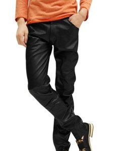 slim-faux-leather-pants-black