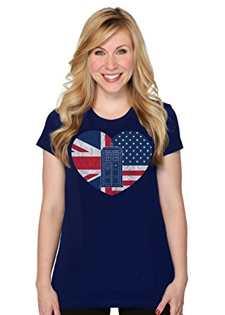 womens-distressed-tardis-flag-heart-t-shirt
