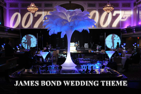 Celebrate Mega Event With James Bond Theme Party