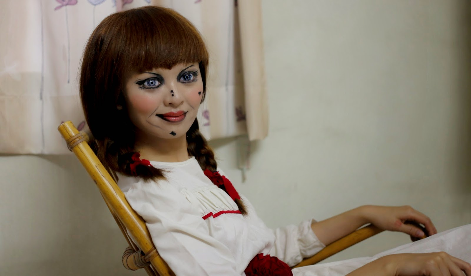 Time Become Real Annabelle Doll Halloween Find