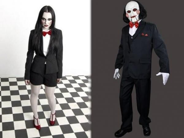 Jigsaw Costume Time To Manipulate The Halloween Victim Find Your