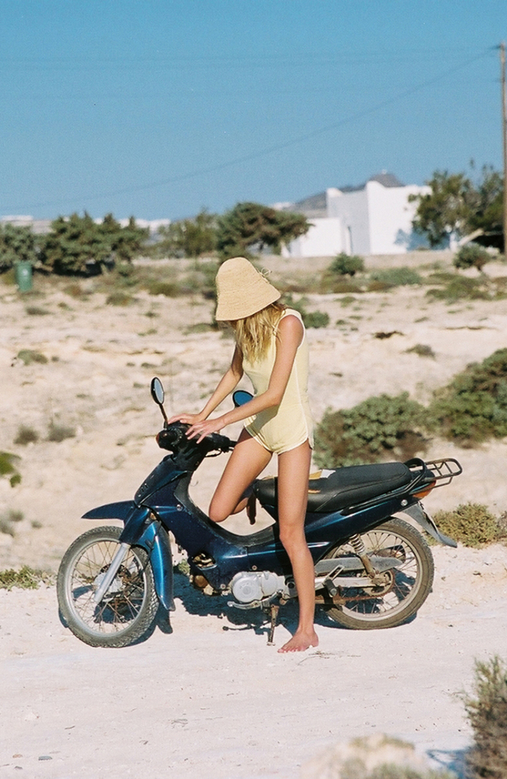 Emma Stern Neilsen in Greece by Photographer Cameron Hammond for ELSEWHERE