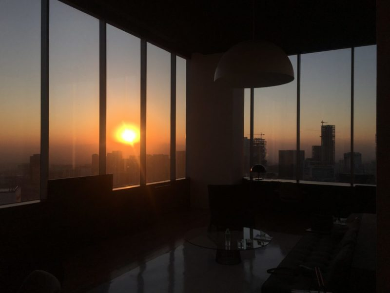 Penthouse Sunset, Hotel Distrito Capital in Mexico City