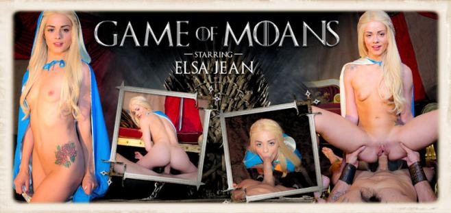 Elsa Jean Game of Moans dvd cover