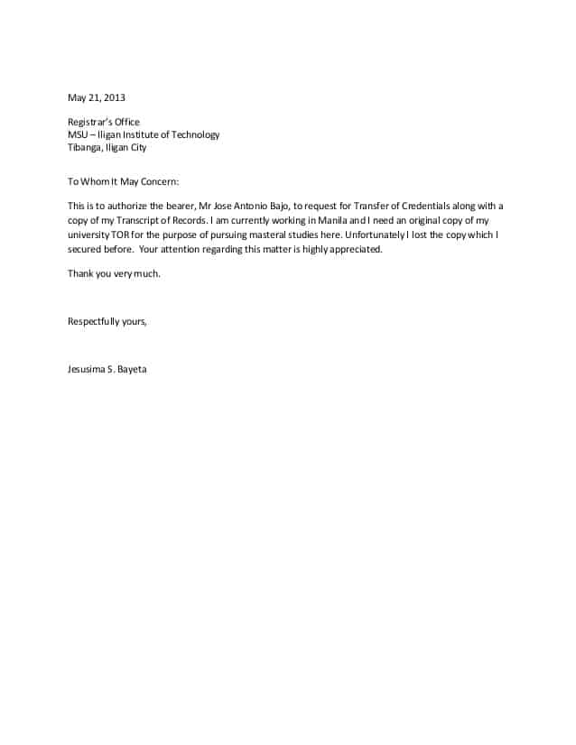 how to write authorization letter sample 6 authorization letter samples find word letters