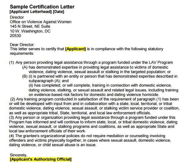 8 Certification Letters Find Word Letters