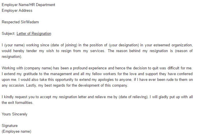 Resignation letter sample rude rude resignation letters 5 free nasty resignation letter image collections letter format formal sample expocarfo Image collections