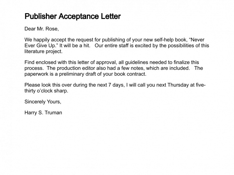 Accepted For Payment Cover Letter Pdf