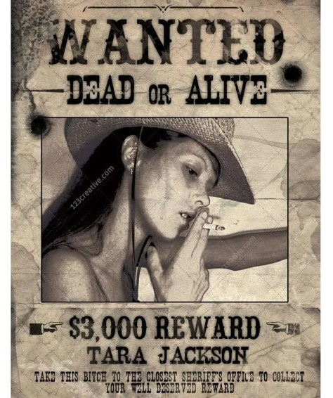 Wanted Poster Template 6.