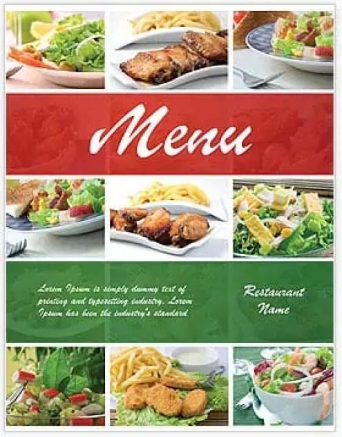 menu template 3.