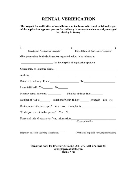 rental verification form 3.
