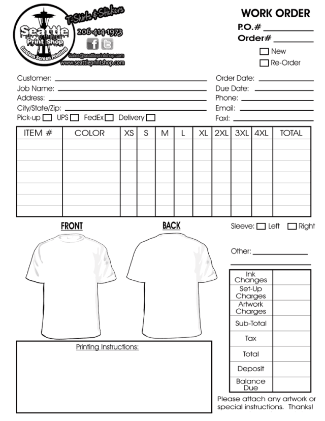 It is a graphic of Monster Printable T Shirt Order Form