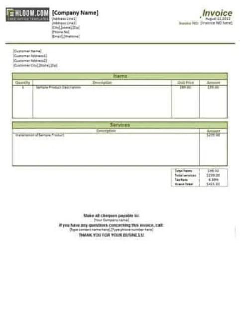 service-invoice-template-4