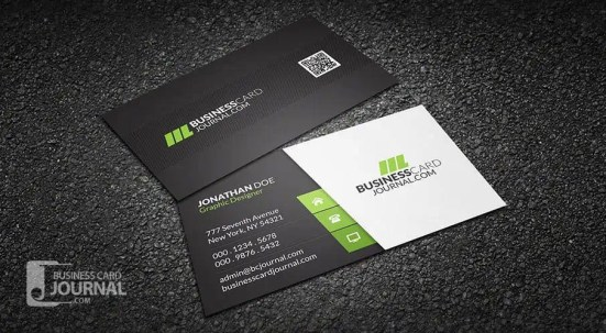 business card template 4.