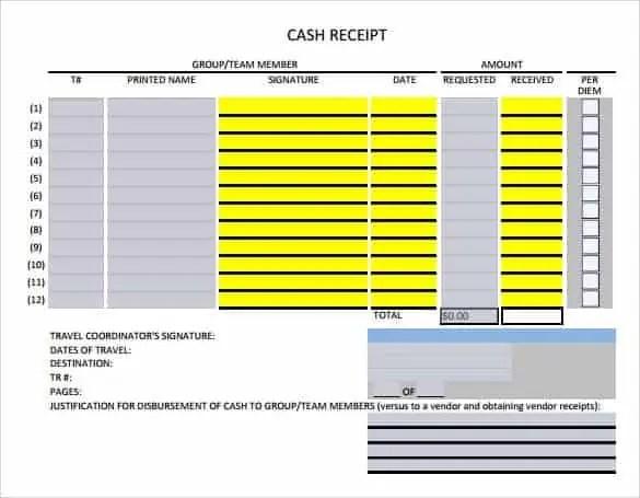cash receipt template 4.