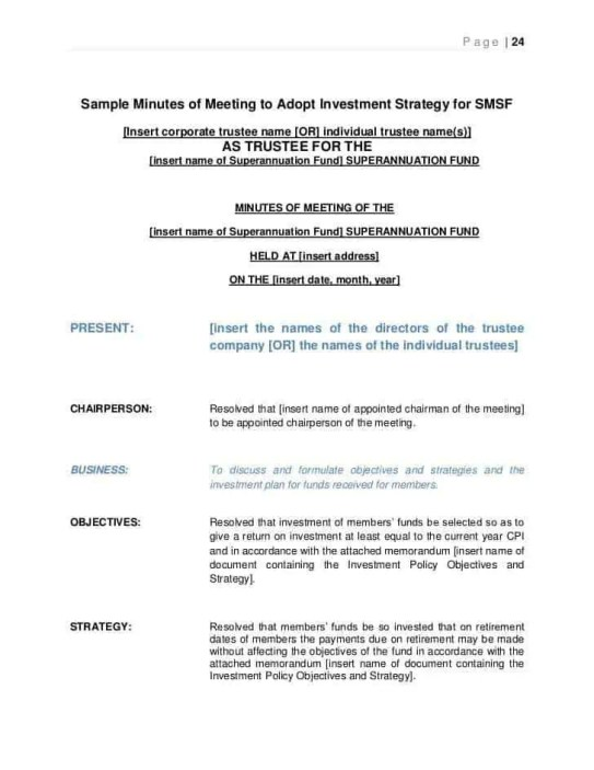 meeting minutes template 9.