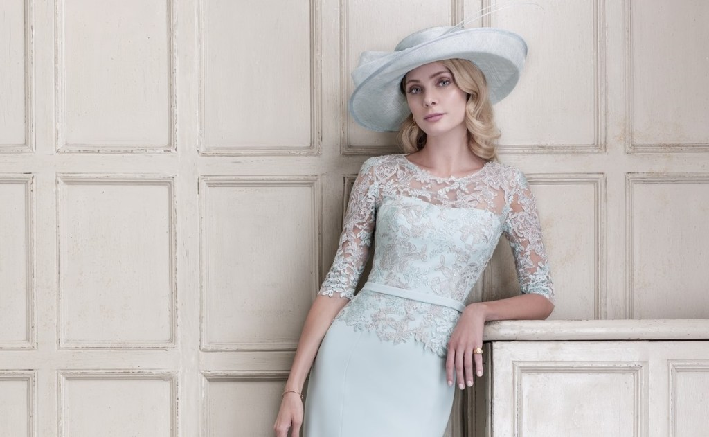 Flattering Mother Of The Bride Dresses: Stylish Mother Of The Bride Outfits From John Charles SS18
