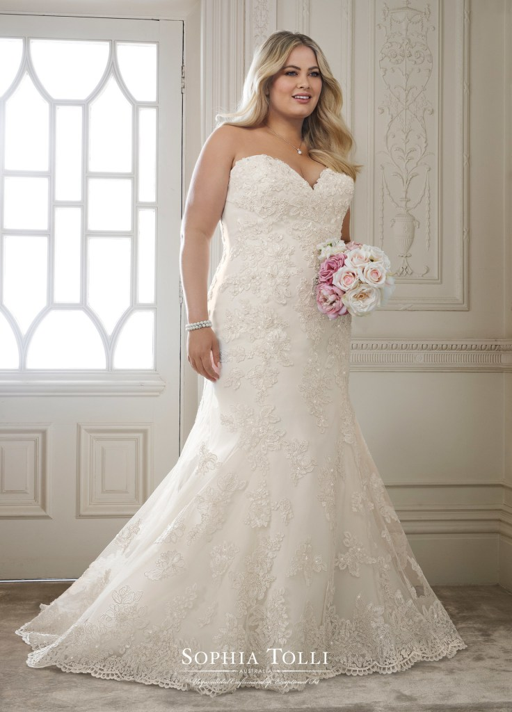 Plus Size Wedding Dresses From Sophia Tolli Find Your Dream Dress