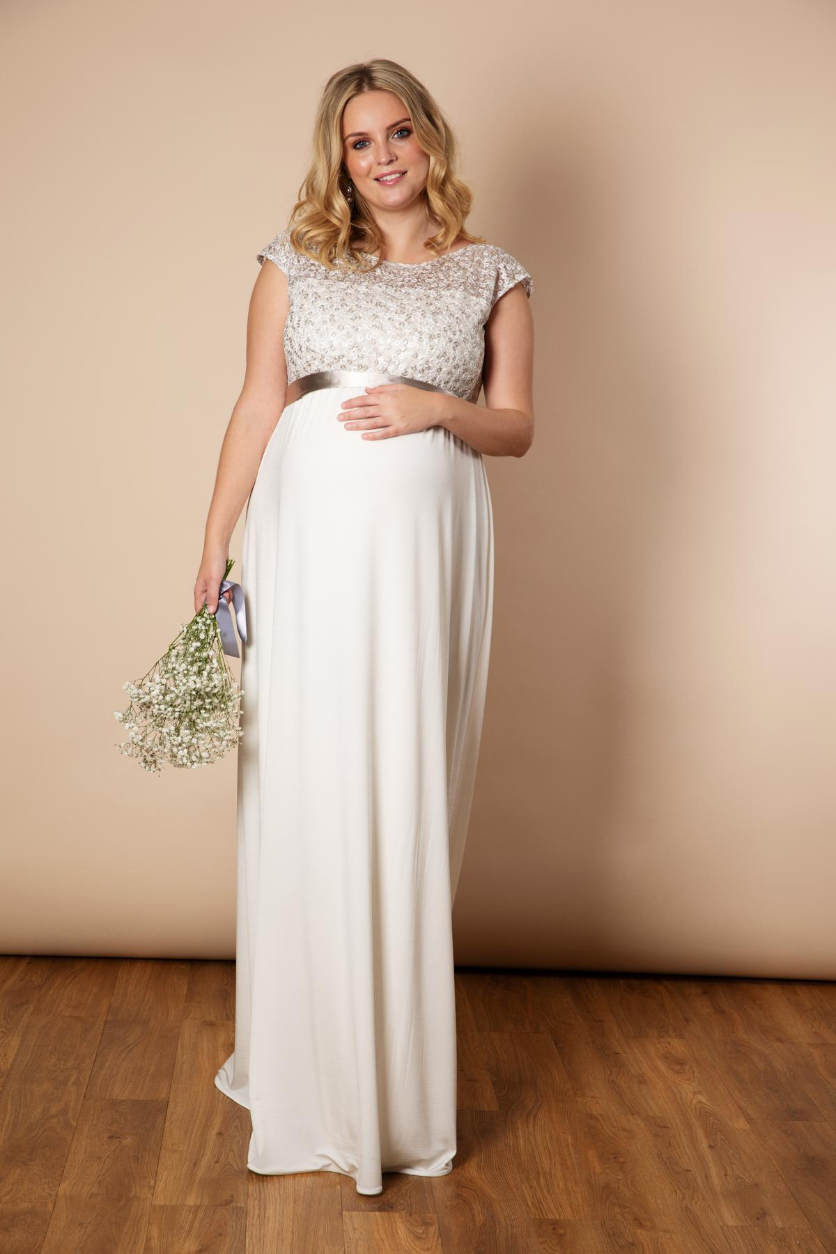 Plus Size Maternity Formal Gown - Carley & Connellan