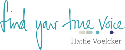 Find-your-true-voice small with Hattie Voelcker under