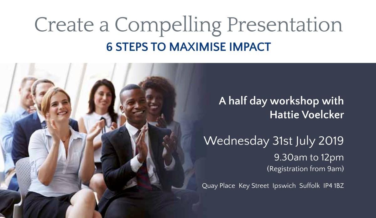 Compelling Presentation Leaflet Header