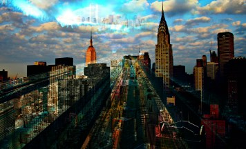 Art Print City Dreaming