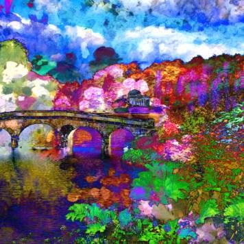 Digital Art Landscape