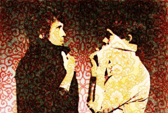 Tegan and Sara Portrait Digital Art