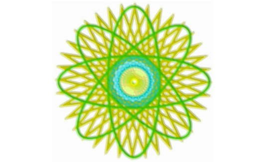 Spirograph Layer Art