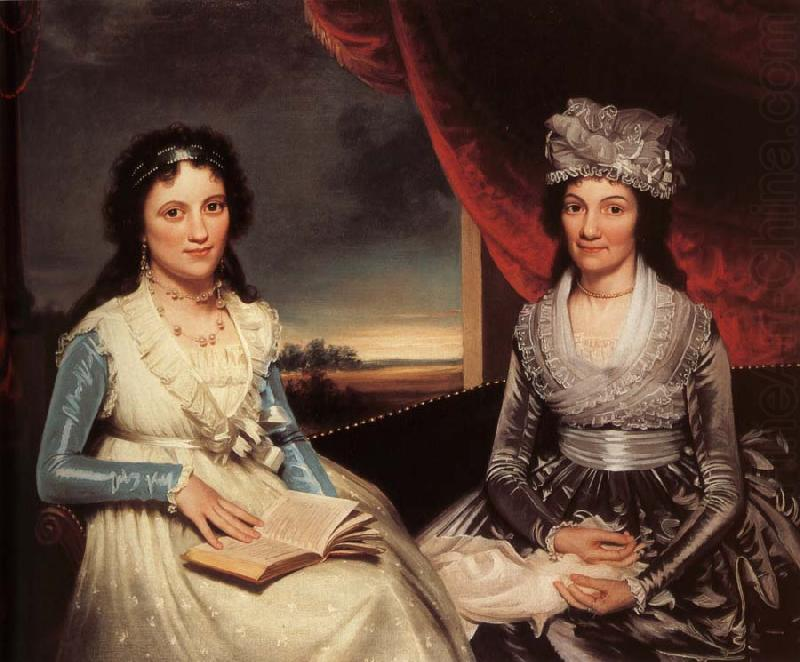 Mother and her Daughter, Ralph Earl