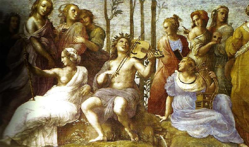 Raphael, Apollo and the Muses