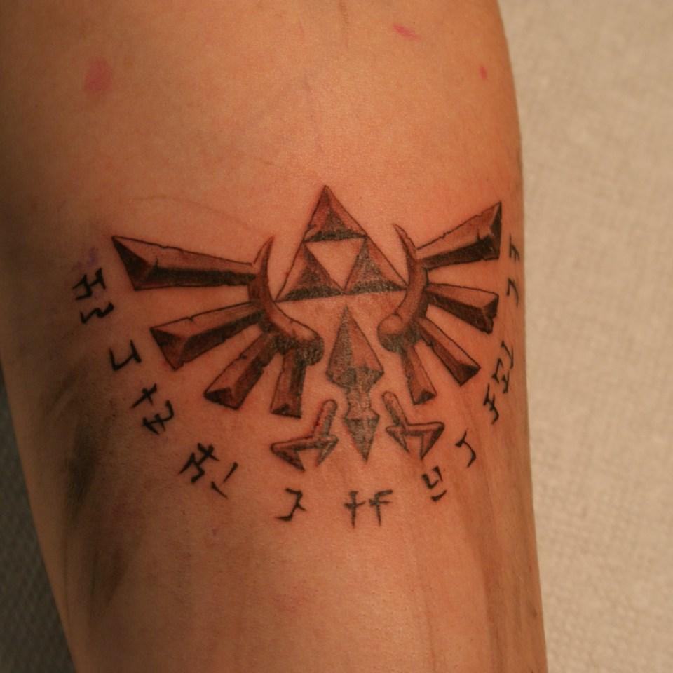 Zelda tattoo tariq sabur fine art for bodies