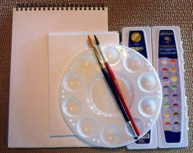 Watercolor Painting Supplies