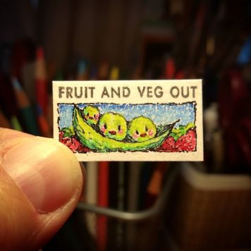 Fruit And Veg Out Kate Spade Stamp