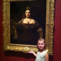 My Little Princess Meets a Queen - Our Visit To The Hammer Museum
