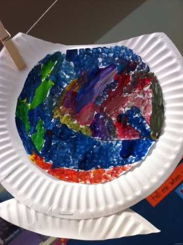 paper plate fishbowl 4