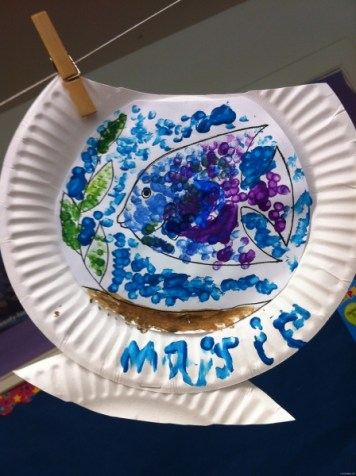 paper plate fishbowl 7