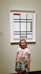 LACMA Maisie with Mondrian