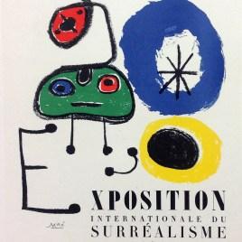 "Miro Joan, ""Exposition du surrealisme"""