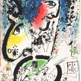 "Chagall Marc, ""Auto Portrait"""