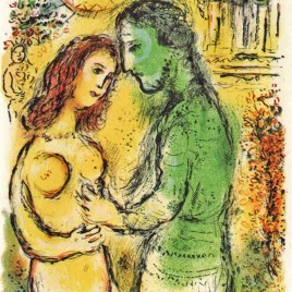 "Chagall Marc, ""Ares and Aphrodite – 1989 Odyssea V1"""