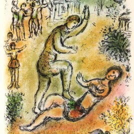 "Chagall Marc, ""Combat between Ulysses and Irus – Odyssea V2"" 1989"