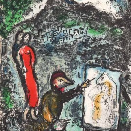 "Chagall Marc, ""Near St Jeannet – 1972"""