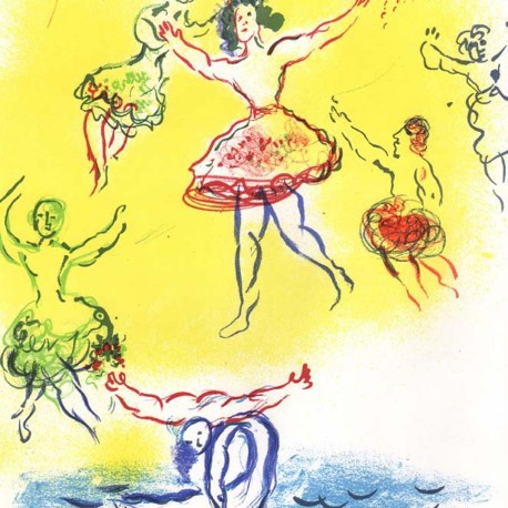 Chagall_Sketch_for_Swan_lake